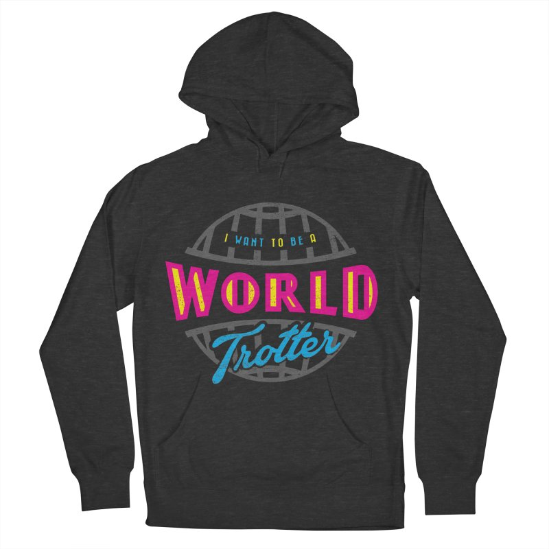 Go Travel Women's French Terry Pullover Hoody by Rocket Artist Shop
