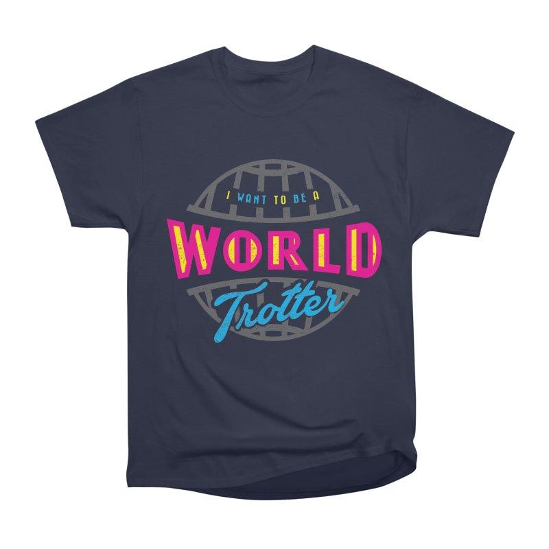 Go Travel Men's Heavyweight T-Shirt by Rocket Artist Shop