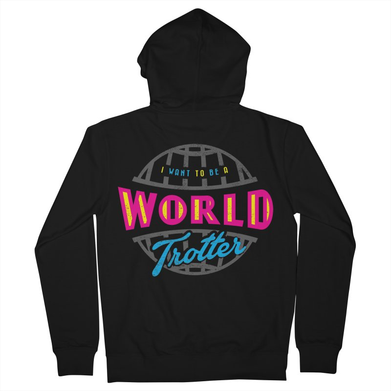 Go Travel Women's Zip-Up Hoody by Rocket Artist Shop