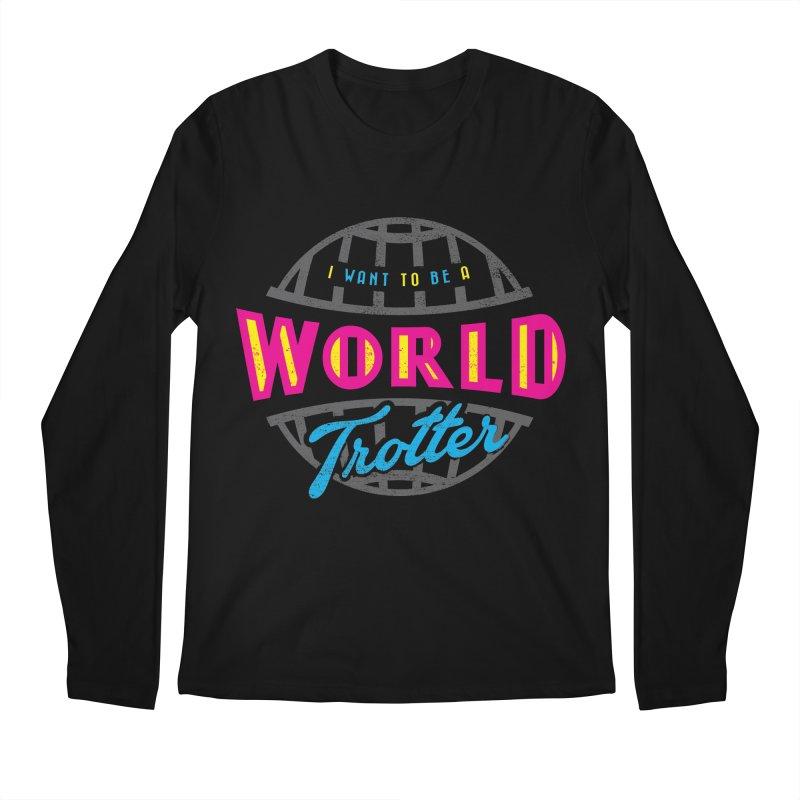 Go Travel Men's Regular Longsleeve T-Shirt by Rocket Artist Shop