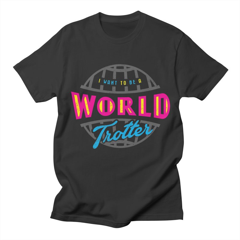 Go Travel Women's Regular Unisex T-Shirt by Rocket Artist Shop
