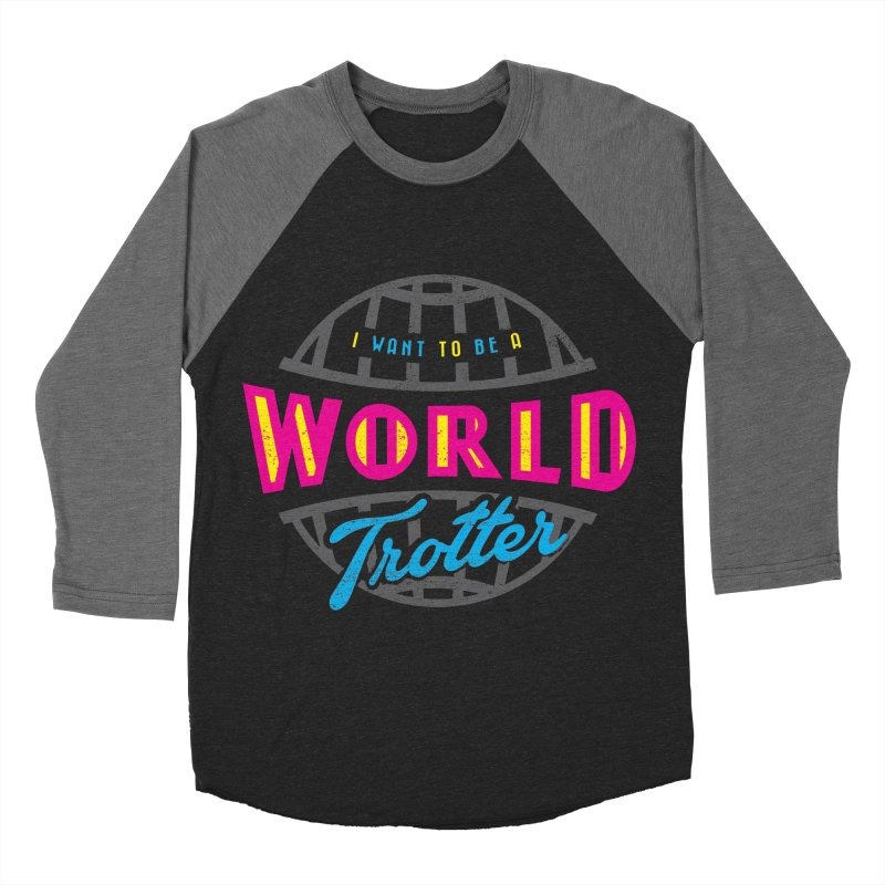 Go Travel Women's Baseball Triblend Longsleeve T-Shirt by Rocket Artist Shop