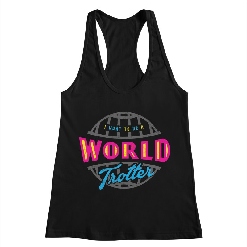 Go Travel Women's Racerback Tank by Rocket Artist Shop