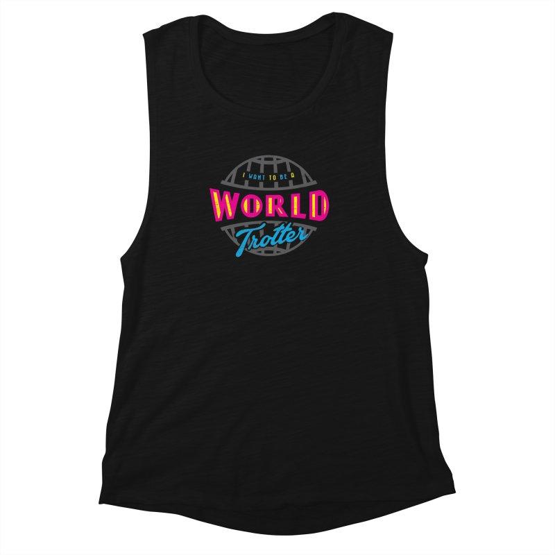 Go Travel Women's Tank by Rocket Artist Shop