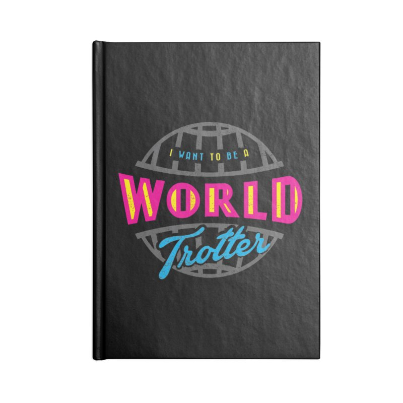 Go Travel Accessories Lined Journal Notebook by Rocket Artist Shop