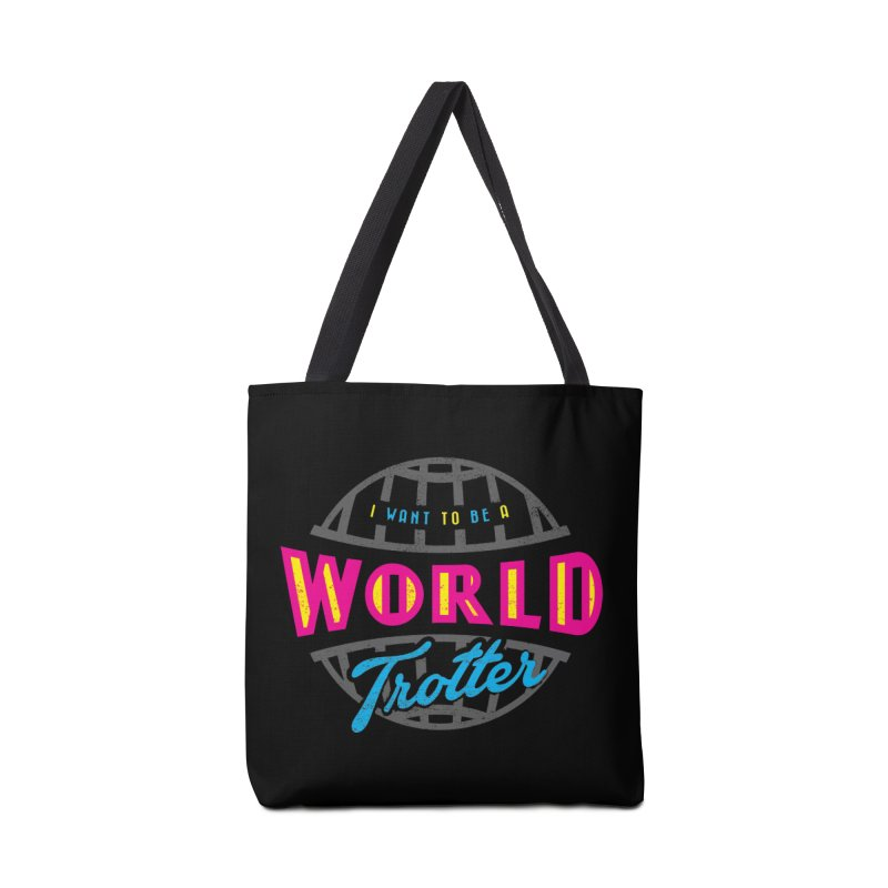 Go Travel Accessories Tote Bag Bag by Rocket Artist Shop