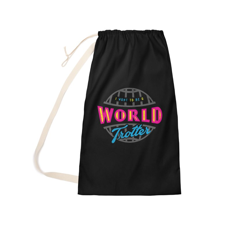 Go Travel Accessories Laundry Bag Bag by Rocket Artist Shop