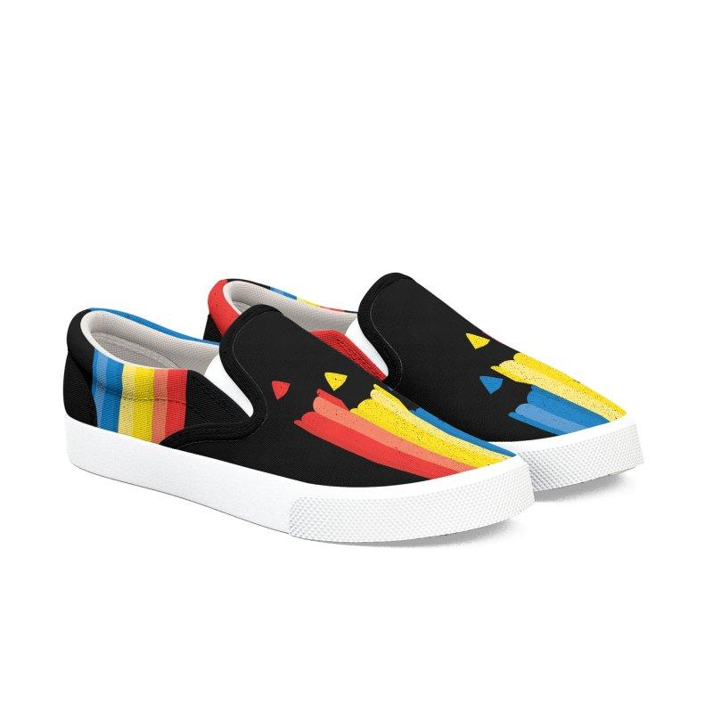 Basic Colors Men's Shoes by Rocket Artist Shop