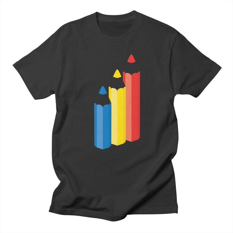 Primary Pencils Women's T-Shirt by Rocket Artist Shop