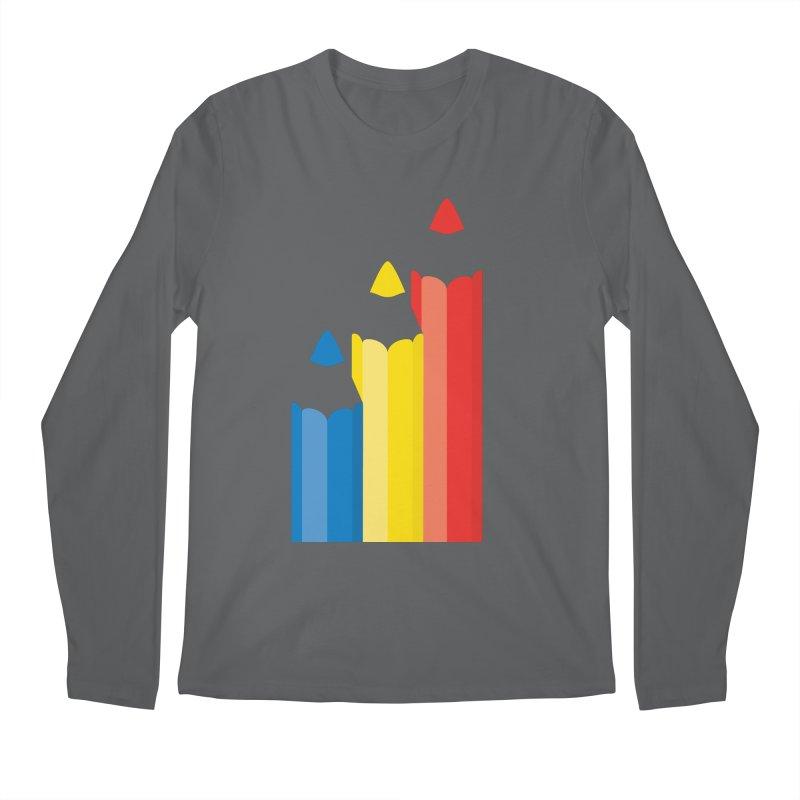 Basic Colors Men's Longsleeve T-Shirt by Rocket Artist Shop