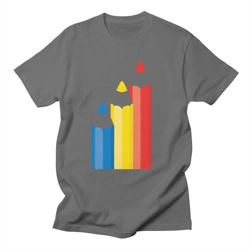 Basic Colors Men's T-Shirt by Rocket Artist Shop
