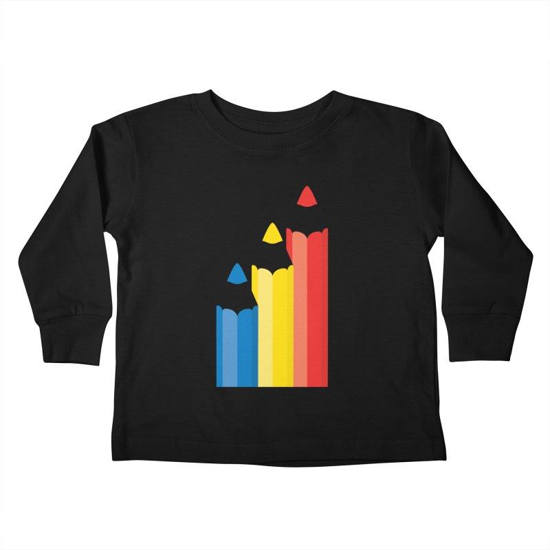 Basic Colors Kids Toddler Longsleeve T-Shirt by Rocket Artist Shop