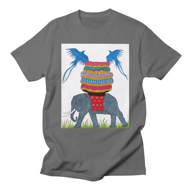 Callie's Elephant Men's T-Shirt by RockfishWildlifeSanctuary's Artist Shop
