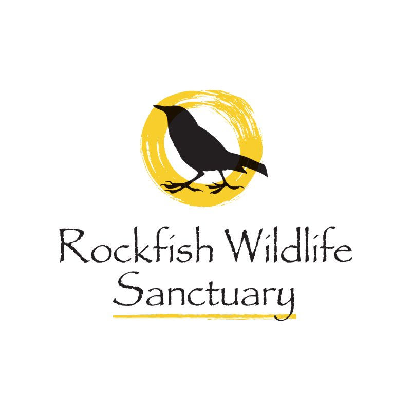 RWS Logo with Name! Men's T-Shirt by RockfishWildlifeSanctuary's Artist Shop