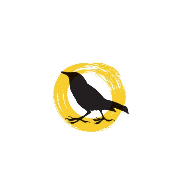 Transparent Crow Logo Men's T-Shirt by RockfishWildlifeSanctuary's Artist Shop