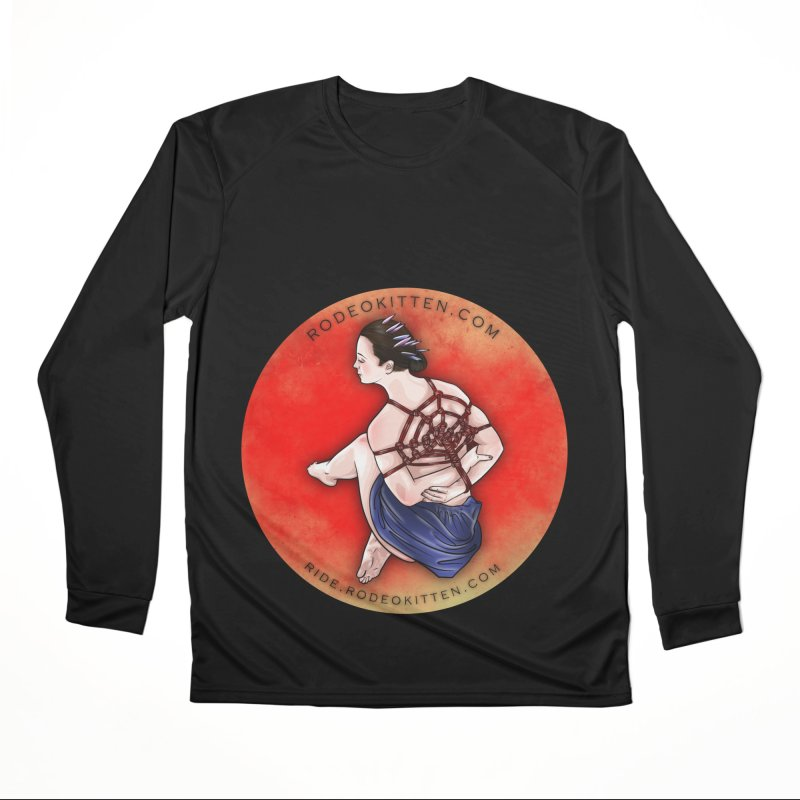 The Web Women's Longsleeve T-Shirt by Rodeo Kitten's Swag Shop