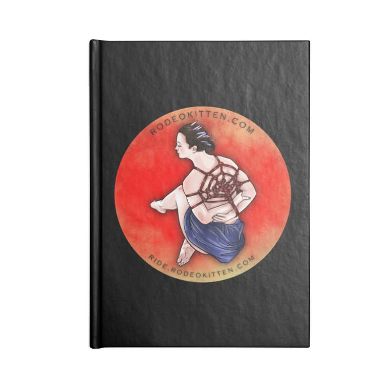 The Web Accessories Notebook by Rodeo Kitten's Swag Shop