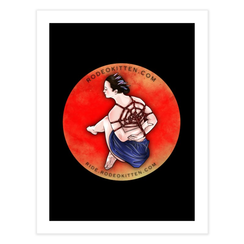The Web Home Fine Art Print by Rodeo Kitten's Swag Shop
