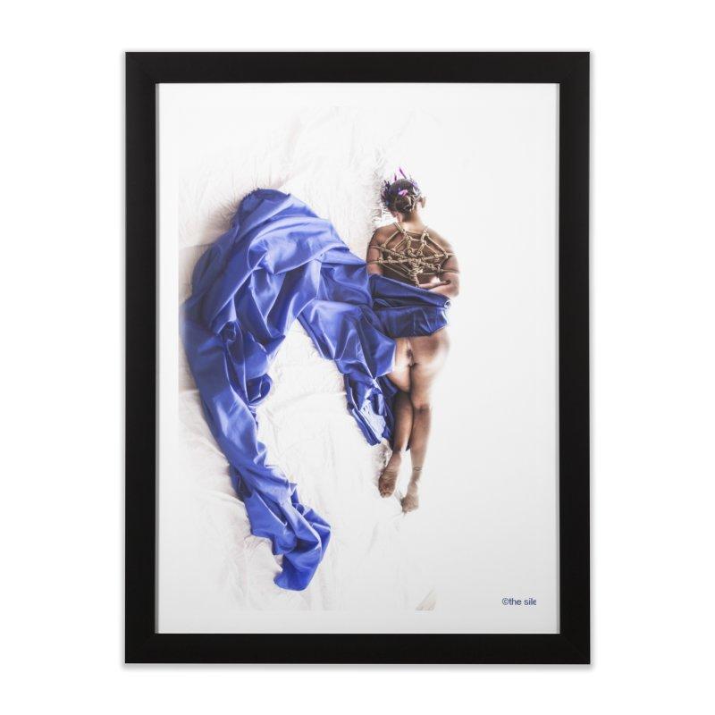 Devine Web Home Framed Fine Art Print by Rodeo Kitten's Swag Shop