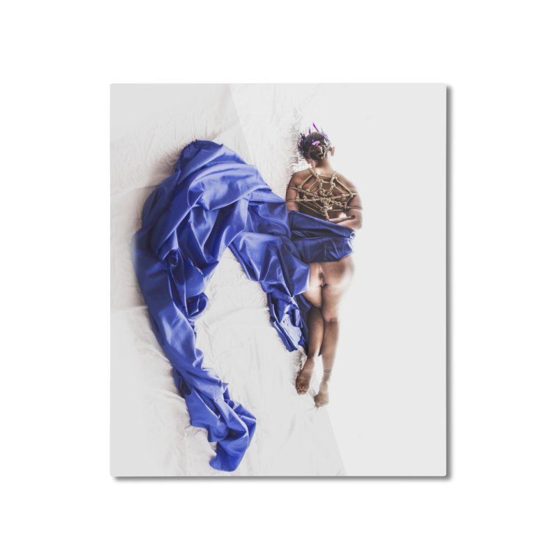 Devine Web Home Mounted Aluminum Print by Rodeo Kitten's Swag Shop