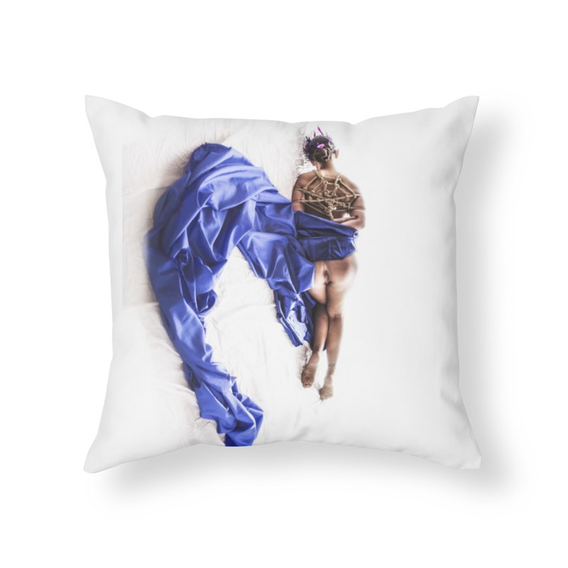 Devine Web Home Throw Pillow by Rodeo Kitten's Swag Shop