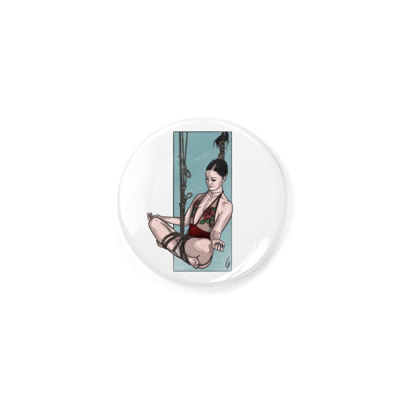 Balancing Act Accessories Button by Rodeo Kitten's Swag Shop