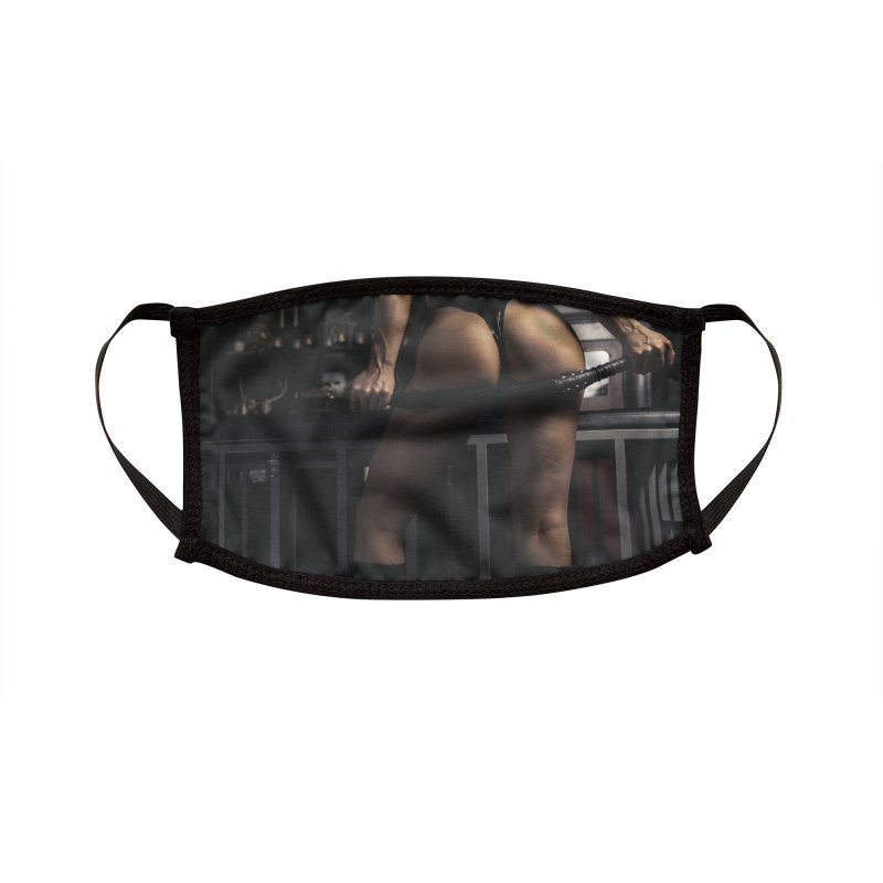 Mistress Ryder Accessories Face Mask by Rodeo Kitten's Swag Shop