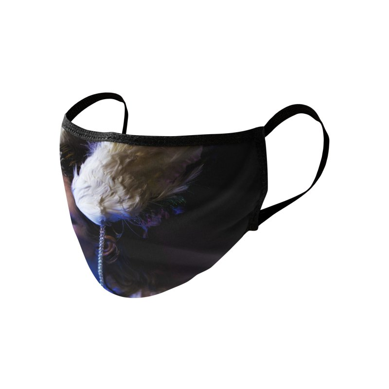 Bathing in Darkness Accessories Face Mask by Rodeo Kitten's Swag Shop
