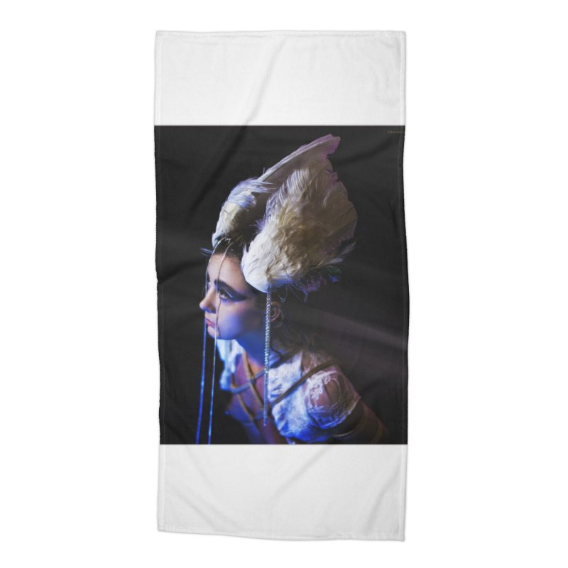 Bathing in Darkness Accessories Beach Towel by Rodeo Kitten's Swag Shop