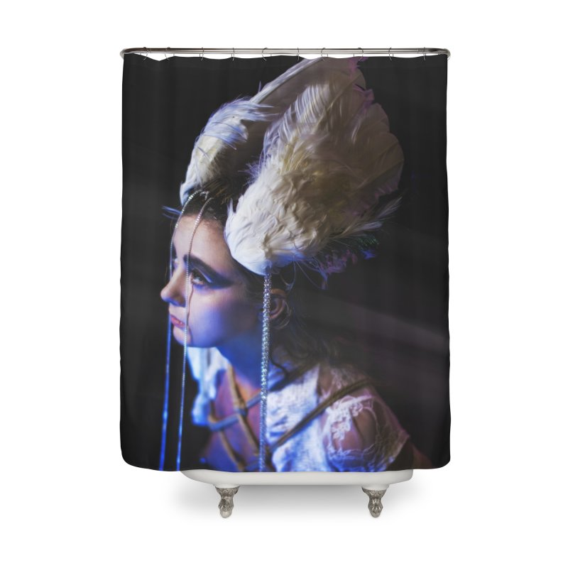 Bathing in Darkness Home Shower Curtain by Rodeo Kitten's Swag Shop