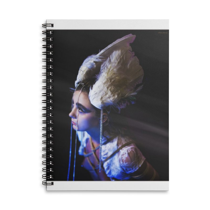 Bathing in Darkness Accessories Notebook by Rodeo Kitten's Swag Shop