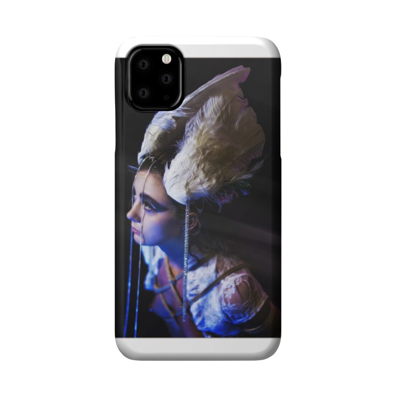 Bathing in Darkness Accessories Phone Case by Rodeo Kitten's Swag Shop