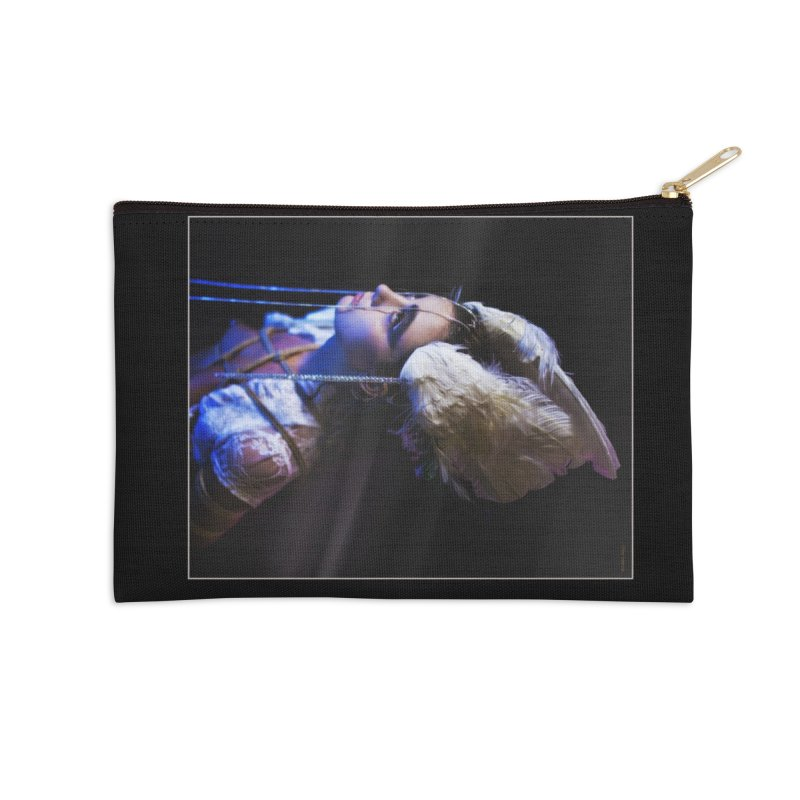 Bathing in Darkness Accessories Zip Pouch by Rodeo Kitten's Swag Shop