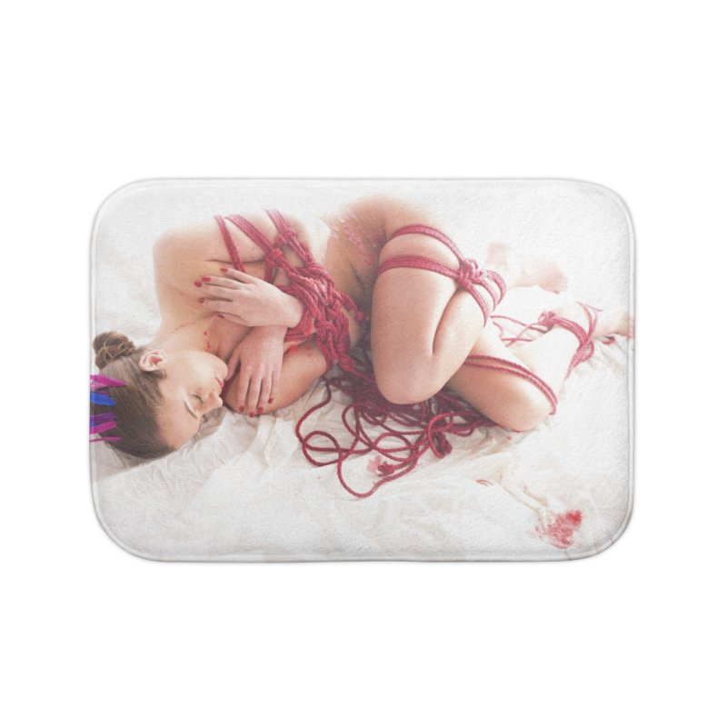 Abyss Home Bath Mat by Rodeo Kitten's Swag Shop