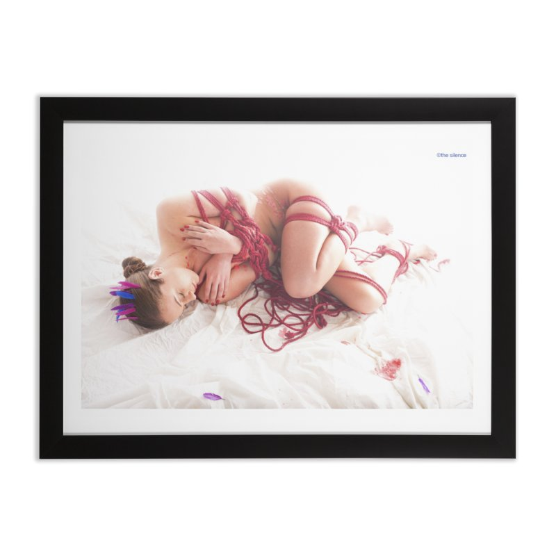 Abyss Home Framed Fine Art Print by Rodeo Kitten's Swag Shop