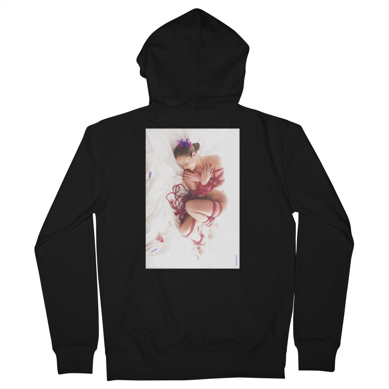Abyss Men's Zip-Up Hoody by Rodeo Kitten's Swag Shop
