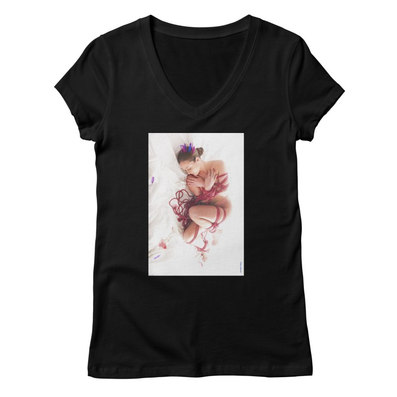 Abyss Women's V-Neck by Rodeo Kitten's Swag Shop