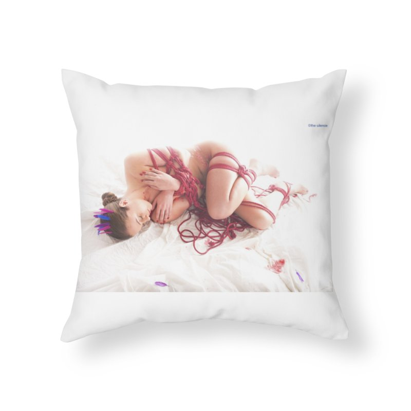 Abyss Home Throw Pillow by Rodeo Kitten's Swag Shop