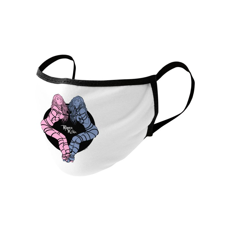 Seeing Double Accessories Face Mask by Rodeo Kitten's Swag Shop