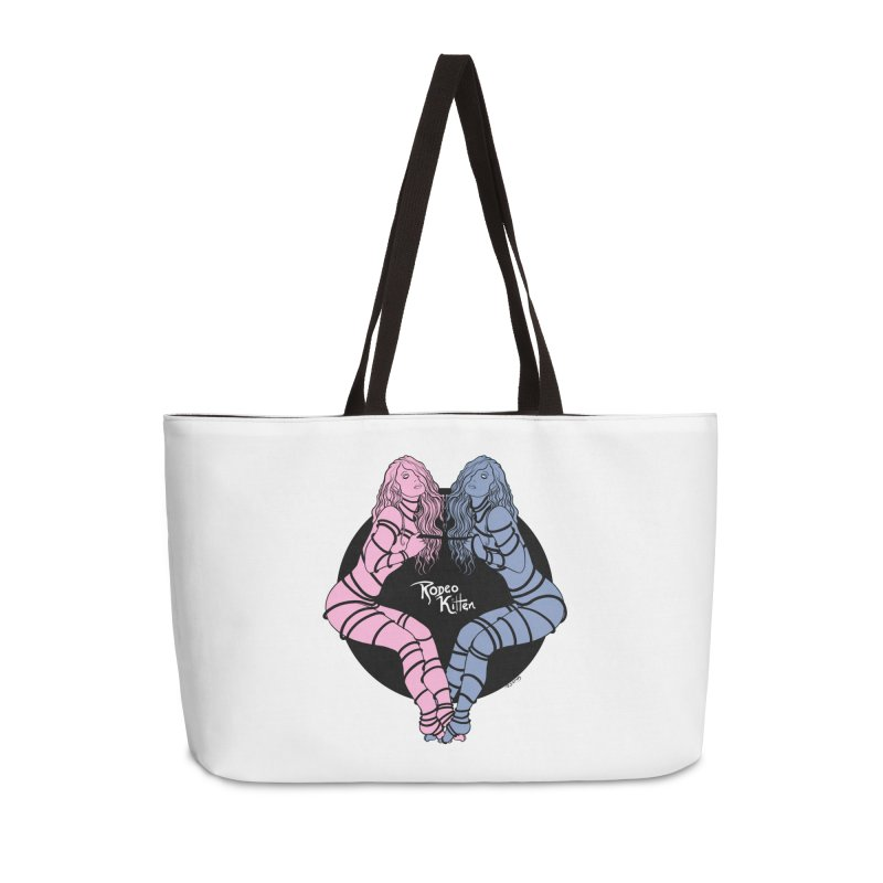 Seeing Double Accessories Bag by Rodeo Kitten's Swag Shop