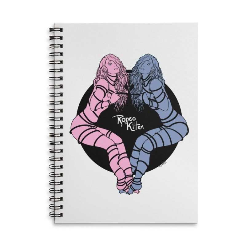 Seeing Double Accessories Notebook by Rodeo Kitten's Swag Shop