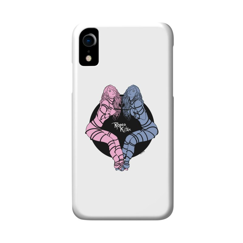 Seeing Double Accessories Phone Case by Rodeo Kitten's Swag Shop