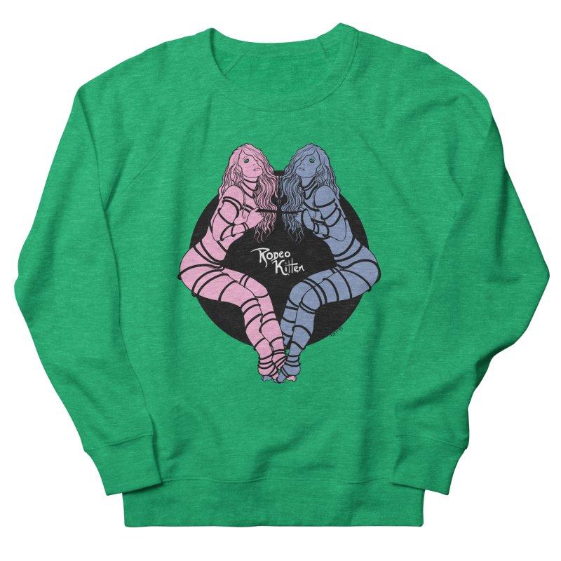 Seeing Double Women's Sweatshirt by Rodeo Kitten's Swag Shop