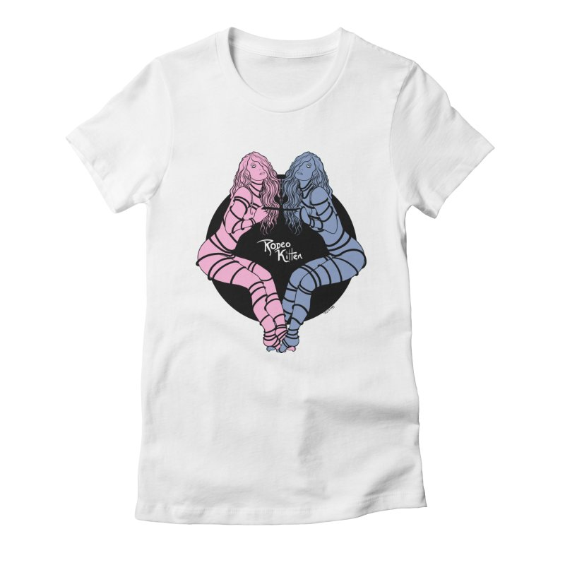 Seeing Double Women's T-Shirt by Rodeo Kitten's Swag Shop