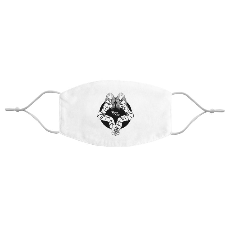 Seeing Double BW Accessories Face Mask by Rodeo Kitten's Swag Shop