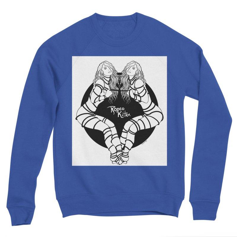 Seeing Double BW Men's Sweatshirt by Rodeo Kitten's Swag Shop