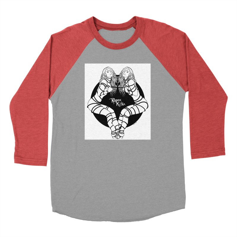 Seeing Double BW Men's Longsleeve T-Shirt by Rodeo Kitten's Swag Shop