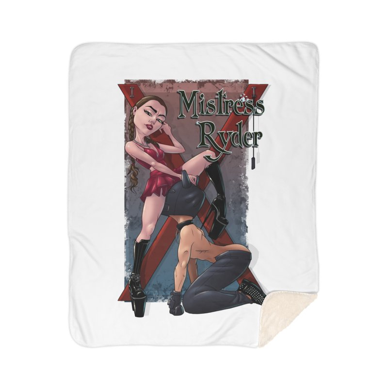 Mistress Ryder Commands Home Blanket by Rodeo Kitten's Swag Shop