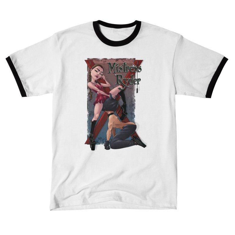 Mistress Ryder Commands Men's T-Shirt by Rodeo Kitten's Swag Shop