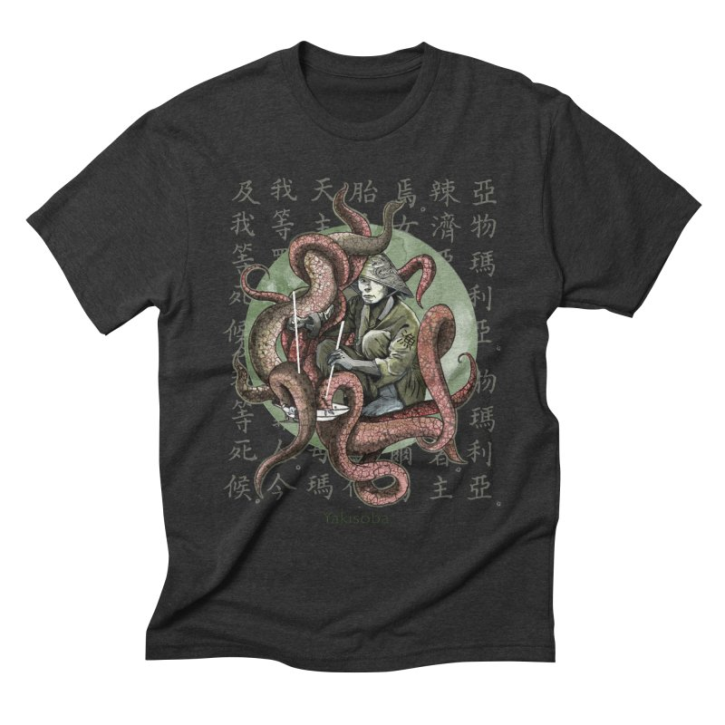 Yakisoba Men's Triblend T-shirt by Rodisley's Artist Shop